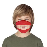 Youth READ MY LIPS Mask - Assorted Colours - Ages 8-12