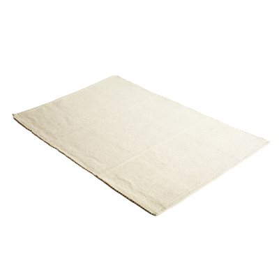"Large Cotton Woven Work Mat - 28"" x 46"" Rug"