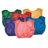 Adult Nylon Mesh Pinnie Each - Blue