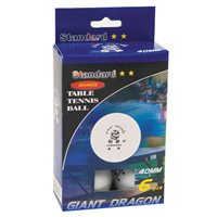 Table Tennis Balls-Pack of 6