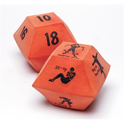 10 Sided Fitness Dice