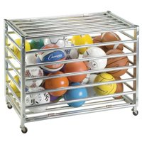 Heavy-Duty Locking Ball Storage Unit