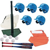 T-Ball Starter Pack With Helmets