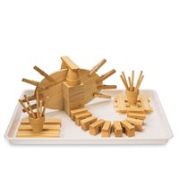Engaging Sensory Tray Kit-Tinkering With timber