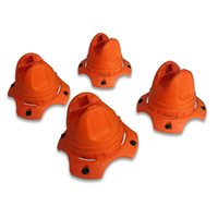 Hockey Dots - Underpass X Training Cones - Pack of 4