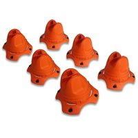 Hockey Dots - Underpass X Training Cones - Pack of 12