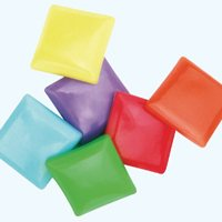 Rainbow Bean Bag Pvc - Set Of 6