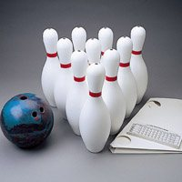 Bowling Set-Set W /  5 Lb Ball