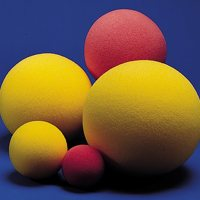 Regular Density Uncoated Foam Ball 7""