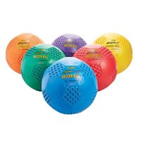 "Fun Gripper Soccer Balls 8"" – Set Of 6"
