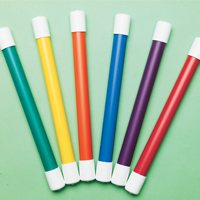 Easy-Grip Relay Batons-Set Of 12