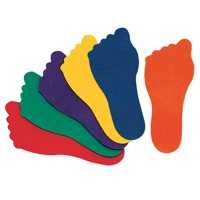 Prism Feet Markers - Set Of 6 Pairs