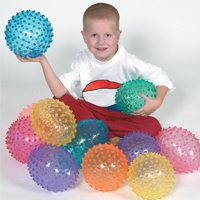 "Prism 8"" Knobby Ball-Set Of 6"