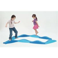 Wavy Tactile Path - Blue