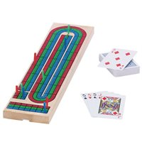 Cribbage Board & Cards