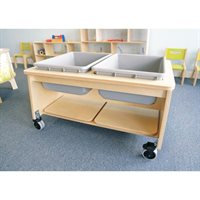 2 Tub Sand And Water Table