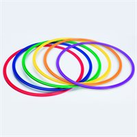 "Prism 30"" Flat Hoops - Set of 6"