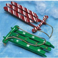 Christmas Sleds Pack of 100