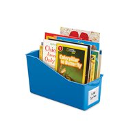 Connect & Store Book Bins - Blue