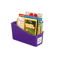 Connect & Store Book Bins - Purple