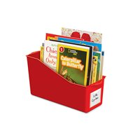 Connect & Store Book Bins - Red