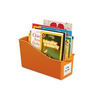 Connect & Store Book Bins - Orange
