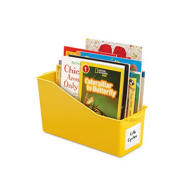 Connect & Store Book Bins - Yellow