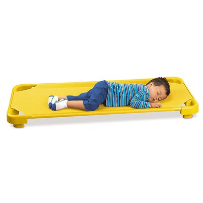 Kids Colours™ Easy-Stack Cot - Yellow
