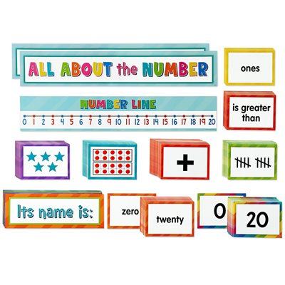 Numbers & Counting Pocket Chart Activity Cards