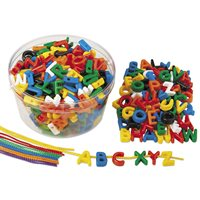 Lace-A-Word Beads - Uppercase