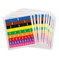 Student Fraction Tiles - Set of 10