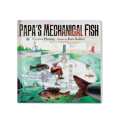 D- Papas Mechanical Fish - Hardcover