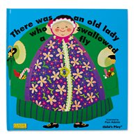 There Was an Old Lady Who Swallowed a Fly - Hardcover Book
