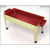 Preschool Sand & Water Table - Sandstone with Red Liner