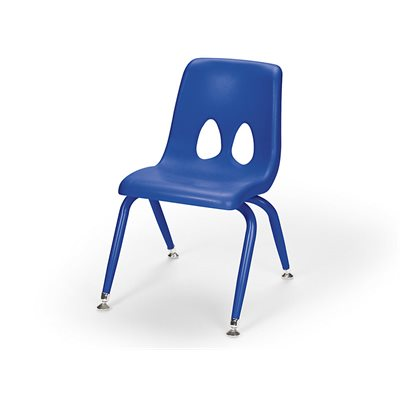 "13.5"" Classic Stacking Chair-Blue"