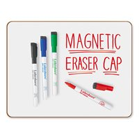 Magnetic Write & Wipe Markers 4-Colour Set