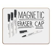 Magnetic Write & Wipe Markers - Set Of 4