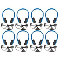 Multipurpose Headphones W / Vol Ctrl Set 8