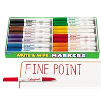 Best-Buy Write & Wipe Thin-Line Markers - Class Pack