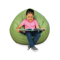 Calming Colours Big Beanbag Seat-Sage Green