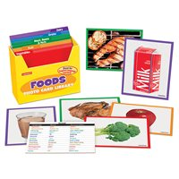 Foods Photo Card Library