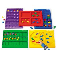 Hands-On Math Trays - Complete Set