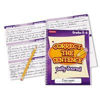 Correct the Sentence Journal-Gr.5-6-Each