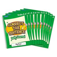 Correct Sentence Journal Gr.3-4-Set 10