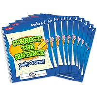 Correct Sentence Journal Gr.1-2-Set 10