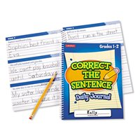 Correct Sentence Journal-Gr.1-2-Ea