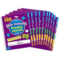 Math Strategies Practice Journal - Gr. 3-Set of 10