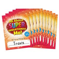 All About Me Journals-Gr. 2-3-Set of 10