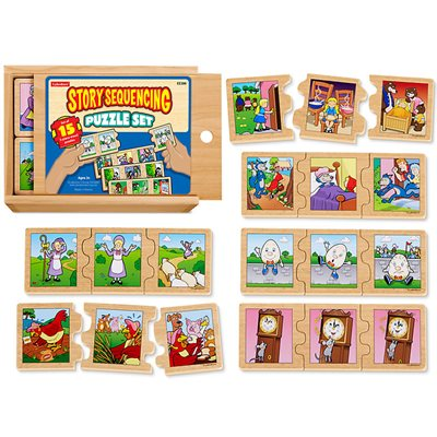 Story Sequencing Puzzle Set