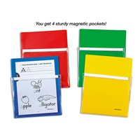 Magnetic Paper Pockets - Set of 4